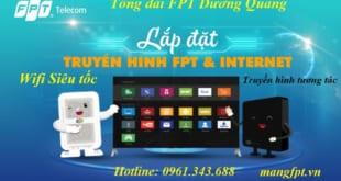 lắp mạng fpt dương quang - FPT gia lâm