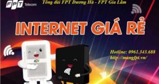 lắp mạng FPT xã dương hà - fpt gia lâm
