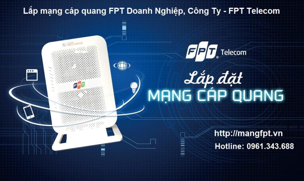 lắp mạng cáp quang fpt doanh nghiệp, công ty - fpt telecom