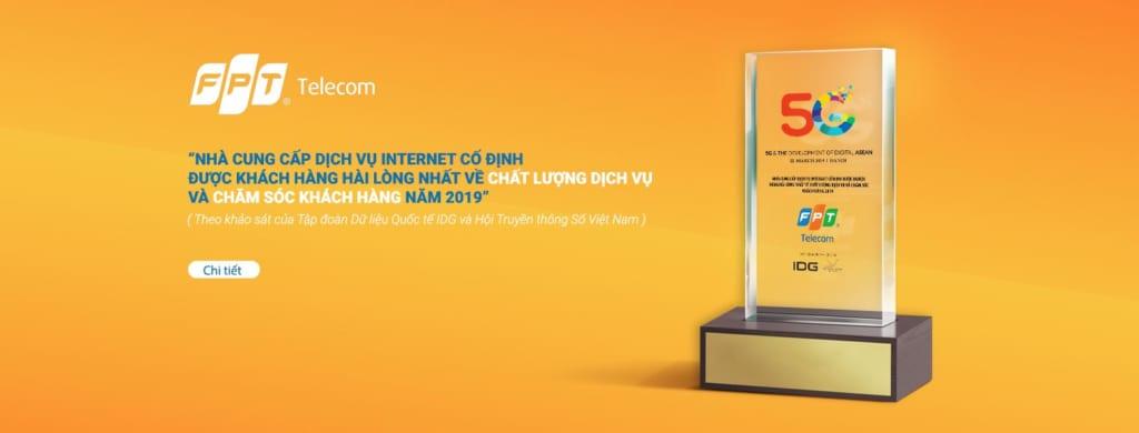 FPT là nhà cung cấp dịch vụ Internet hàng đầu Việt Nam