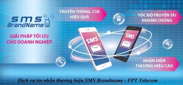 Đăng ký dịch vụ tin nhắn thương hiệu SMS Brandname