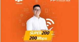 Gói cước Super 200Mbps FPT