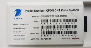 Cách thay đổi mật khẩu wifi mạng VNPT