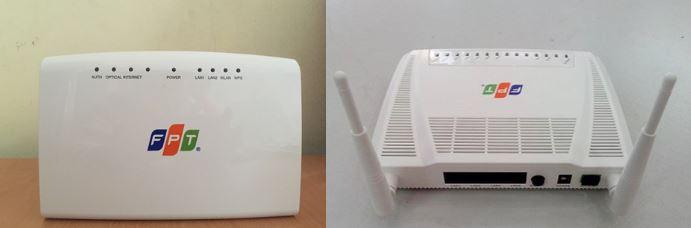 modem wifi FPT đang sử dụng