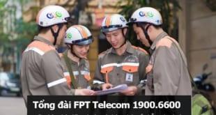 Số điện thoại kỹ thuật của FPT