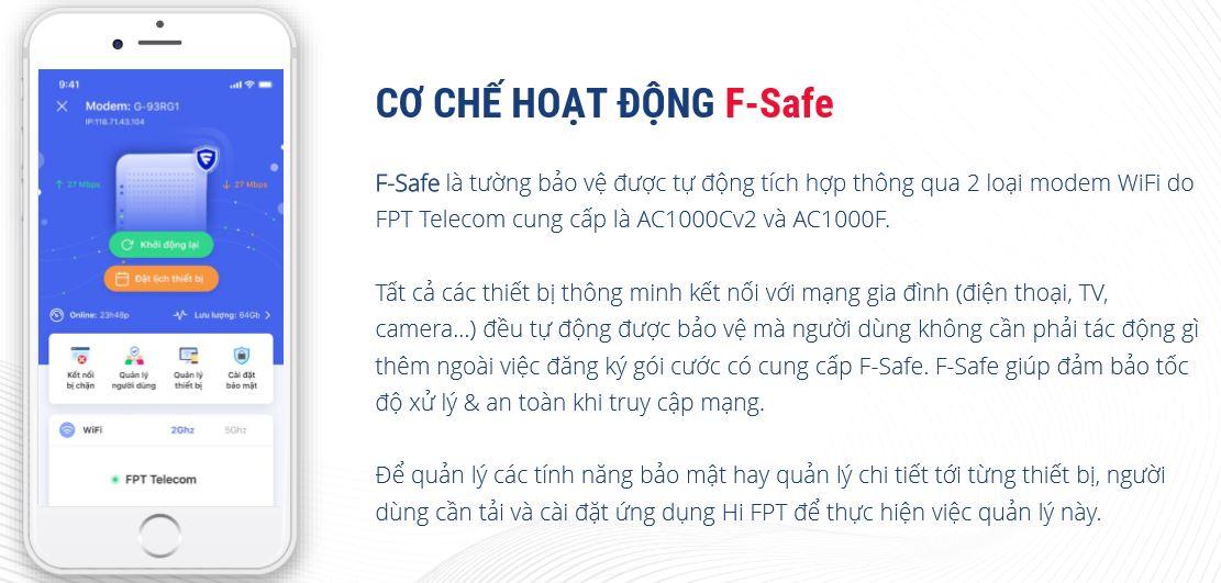 Chế độ hoạt động của f-safe