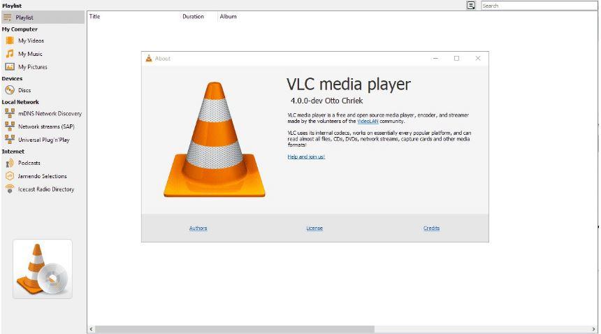 Tải và cài đặt VLC trên máy tính của mình