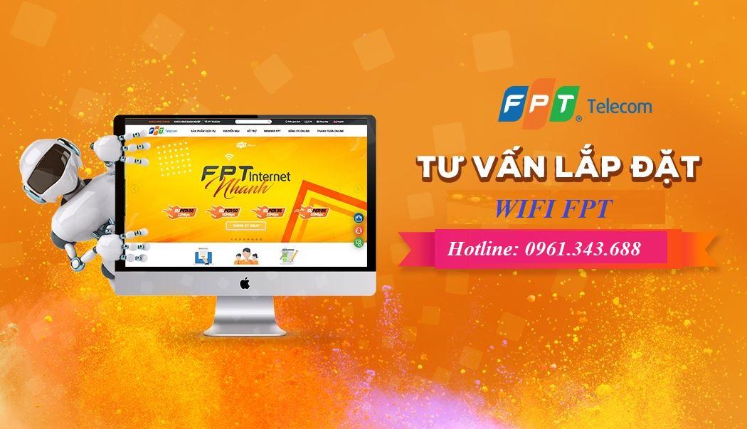 Tư vấn lắp đặt wifi FPT
