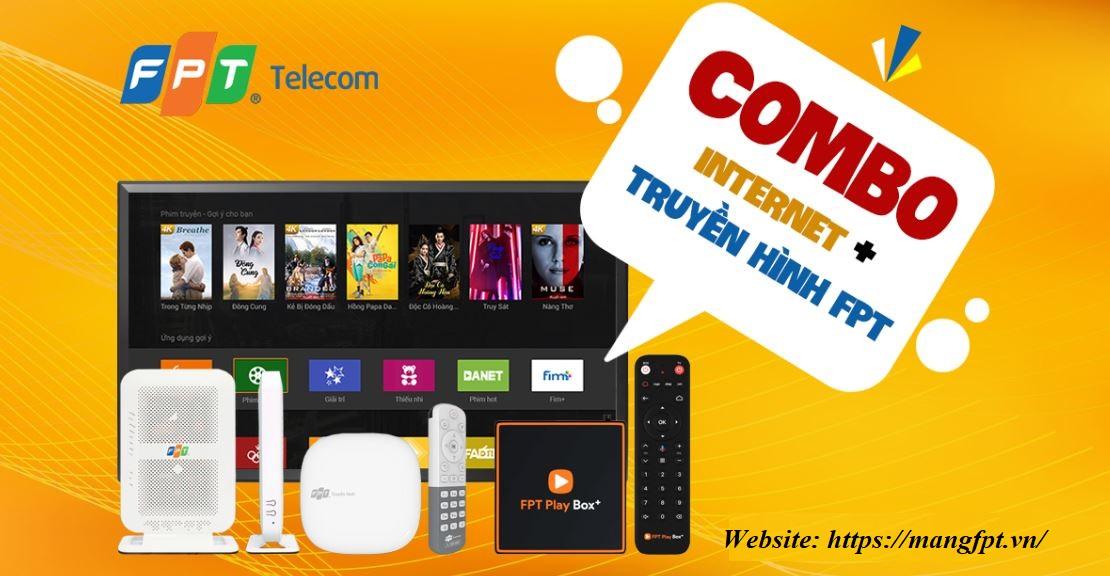 lắp combo Internet kèm truyền hình FPT 4k